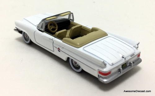 Oxford 1:87 1961 Chrysler 300G  Convertible, White