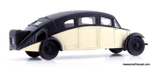 AutoCult 1:43 1930 Burney R-100 Streamline, Black/Ivory