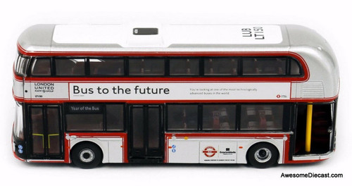 Tiny 1:110 New Routemaster Double Decker Bus: Year of the Bus Livery