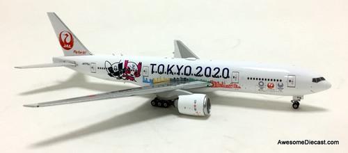 Phoenix 1:400 Boeing 777-200: Japan Airlines, Tokyo 2020 Livery