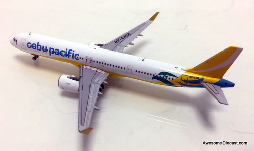 Gemini Jets 1:400 Airbus A321 Neo: Cebu Pacific Airlines
