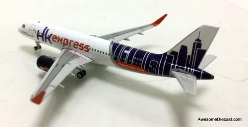 Gemini Jets 1:400 Airbus A320-200: Hong Kong Express Airlines