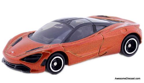 Tomica 1:62 McLaren 720S, Metallic Orange