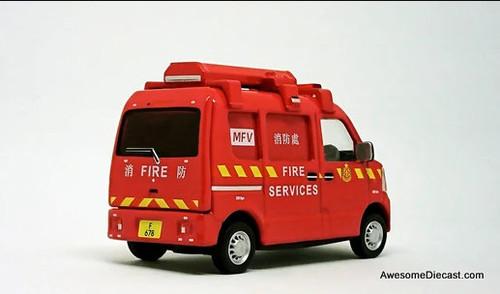 Era Car 1:64 Suzuki Every: Hong Kong Mini Fire Van