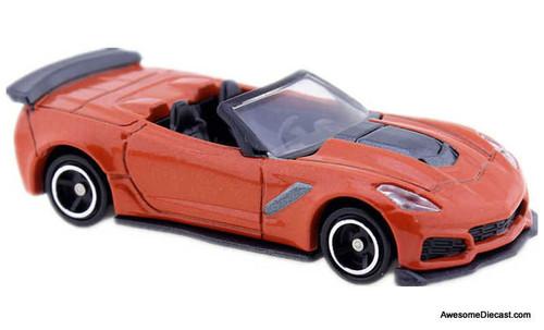 Tomica 1:64 2019 Chevrolet  Corvette ZR1 Convertible, Orange