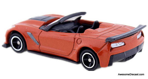 Tomica 1:64 2019 Chevrolet  Corvette ZR1 Convertible, Orange