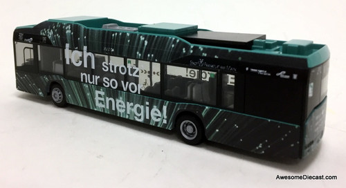 Rietze 1:87 Solaris Urbino 12 Electric Bus: ICB Frankfurt Bus Line