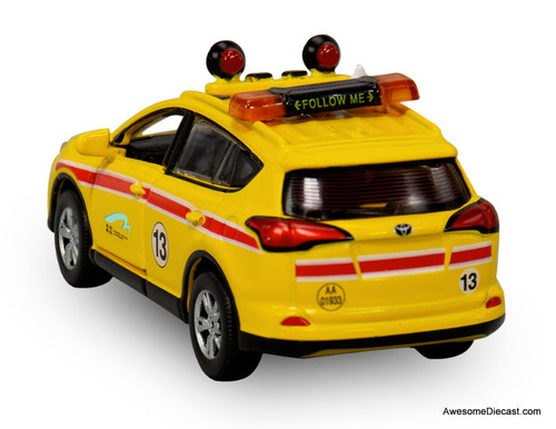 Tiny Toyota Rav4: Hong Kong Airfield Security Patrol