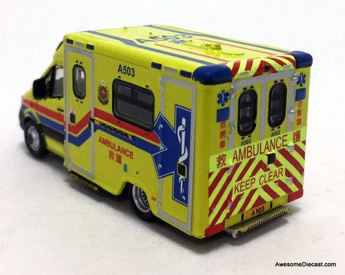 Tiny Mercedes-Benz Sprinter Ambulance (A503): Hong Kong FSD
