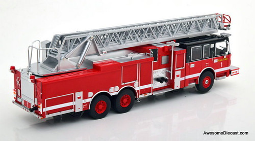 IXO 1:43 Smeal 105' Aerial Ladder Truck: Tower 1