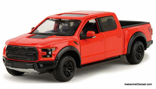 Motor Max 1:27 2017 Ford F-150 Raptor, Red