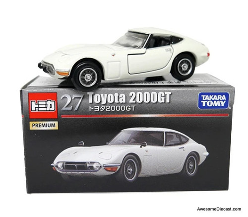 Tomica 1:59 Toyota 2000 GT, White
