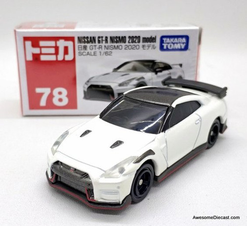 Tomica 1:62 2020 Nissan GT-R Nismo, White