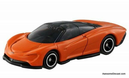 Tomica 1:68 McLaren Speedtail, Metallic Orange