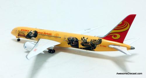 Phoenix 1:400 Boeing 787-9: Hainan Airlines, Yellow, Kung Fu Panda Livery