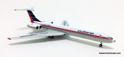 Gemini Jets 1:400 Ilyushin IL-62M: Cubana Airlines, Cuba