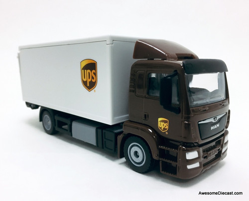 SIKU 1:50 Man LKW Truck w/ Operating Tail-Gate: United Parcel Service