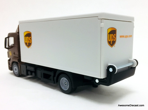 SIKU 1:50 Man LKW Truck w/ Operating Tail-Gate: United Parcel Service
