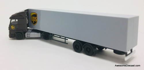 Herpa 1:87 Mercedes -Benz Actros Tractor Trailer:  United Parcel Service