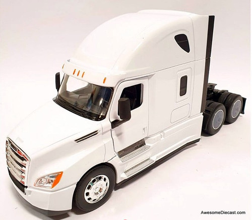 Welly 1:32 Freightliner Cascadia Tractor, White