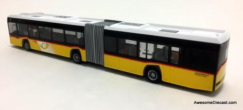 Rietze 1:87 Solaris Urbino 18: Swiss Postal Service