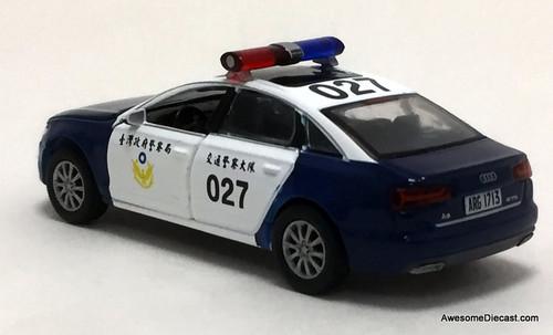 ERA CAR 08 1:64 Audi A6: Taiwan Police Patrol Car 27