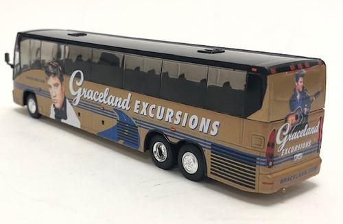 Last Few!! Iconic Replicas 1:87 MCI J4500 Coach: Graceland Excursions