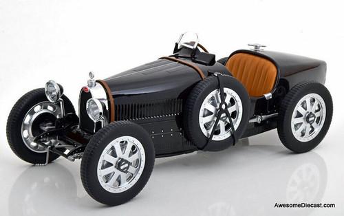 Norev 1:12 1925 Bugatti Type 35 Convertible, Black