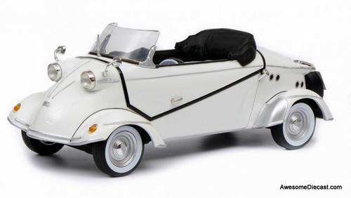 Schuco 1:18 Messerschmitt FMR TG500 Roadster Tiger, White