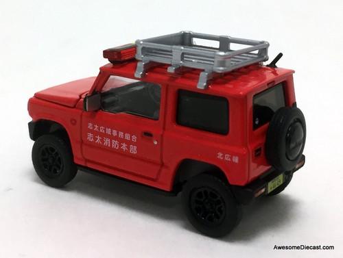 Era Car 1:64 Suzuki Jimny: Japanese Fire Command Car