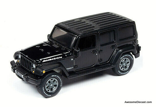 Autoworld 1:64 2018 Jeep Wrangler Unlimited Rubicon, Black