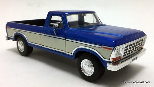 Jada 1:24 1979 Ford F-150, Blue/White