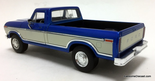 Jada 1:24 1979 Ford F-150, Blue/White