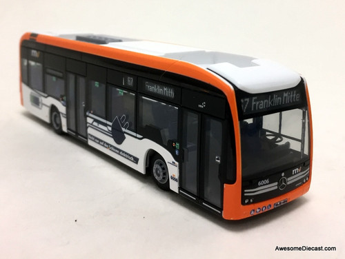 Rietze 1:87 Mercedes-Benz eCitaro: RNV Mannheim Bus Lines