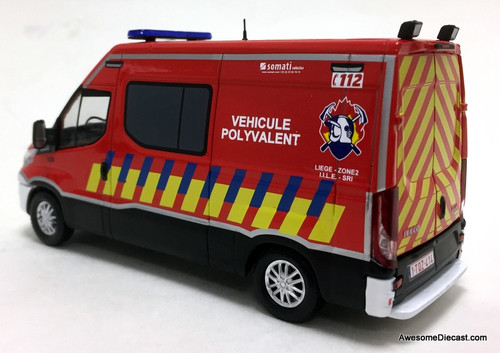 Eligor 1:43 Iveco Daily: French Multi Purpose Fire Vehicle