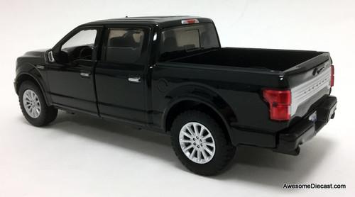 Motormax 1:27 2019 Ford F-150 Limited Crew Cab, Black