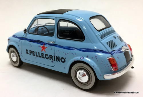 Solido 1:18 Fiat 500: San Pellegrino Sparkling Water Edition
