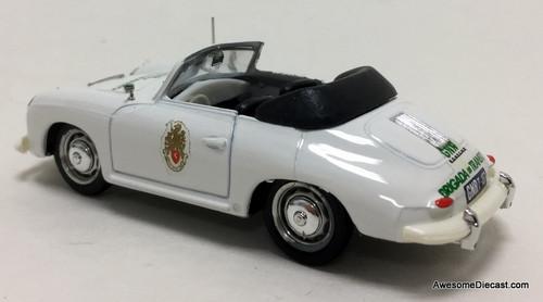Brumm 1:43 1952 Porsche 356 Convertible: Portuguese Highway Patrol