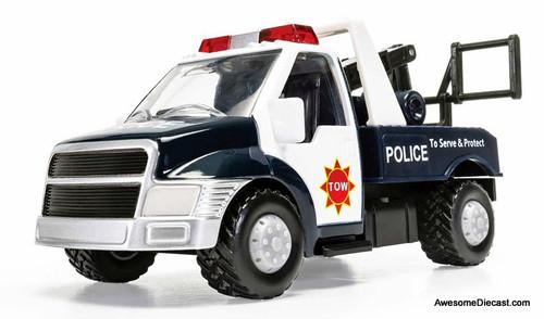 Corgi Chunkies: Police Tow Truck, Blue/White