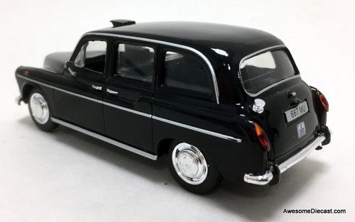 DeAgostini 1:43 1989  Fairway FX4 London Taxi Cab, Black