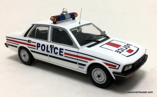 Atlas 1:43 1983 Peugeot 505 GTi Danielson Police Car: Paris Police Service