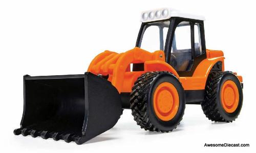 Corgi Chunkies: Construction Tractor Loader, Orange