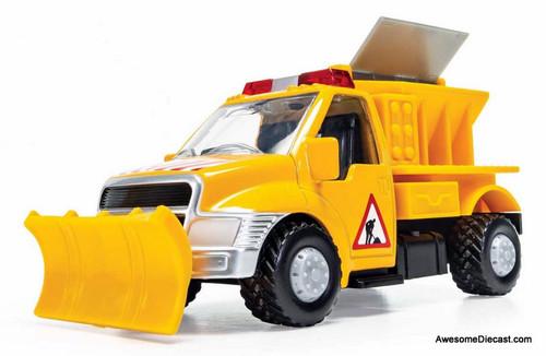 Corgi Chunkies: Snow Plough Truck, Yellow