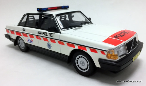 Minichamps 1:18 1986 Volvo 240 GL: Dutch National Police Service