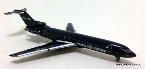Gemini Jets 1:400 Boeing 727-200: Mexican Federales / Police