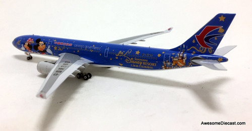 Phoenix Models 1:400 Airbus A330-300: China Eastern Airlines, Shanghai Disney Resort