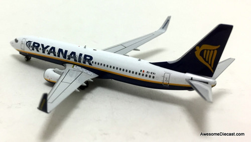 Phoenix models 1:400 Boeing 737-800: Ryanair, Irish Air Line