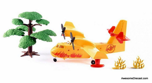 SIKU Fire Fighting Airplane w/ Operating Water Drop Feature