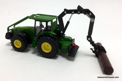 SIKU 1:50 Forestry Tractor w/ Operating Boom Arm: John Deere