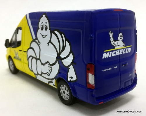 Greenlight 1:43 2019 Ford Transit High Roof: Michelin Tires